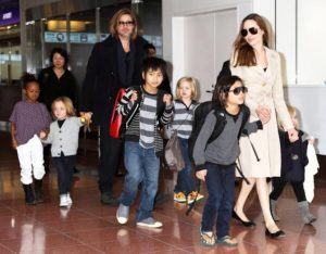 Angelina Jolie says her family are 'all locked in' during the pandemic